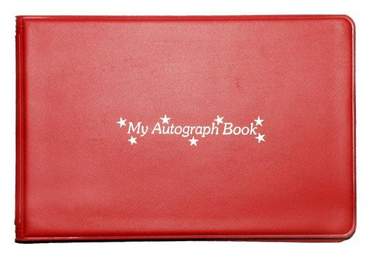 autograph books vinyl autograph books wire bound autograph books